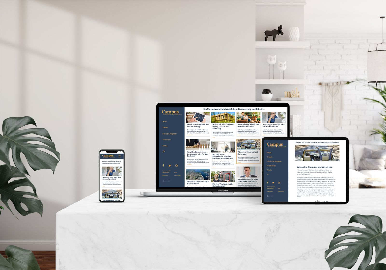 Campus - Das Online-Immobilien-Magazin